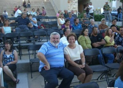 Couple at a concert