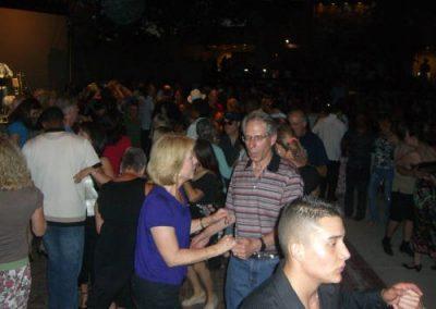 People dancing on the dance floor